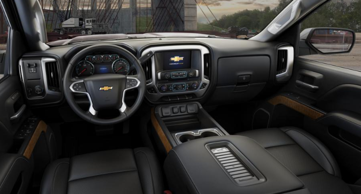 2020 Chevrolet Silverado 2500hd Interior