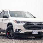 2021 Chevy Traverse Exterior