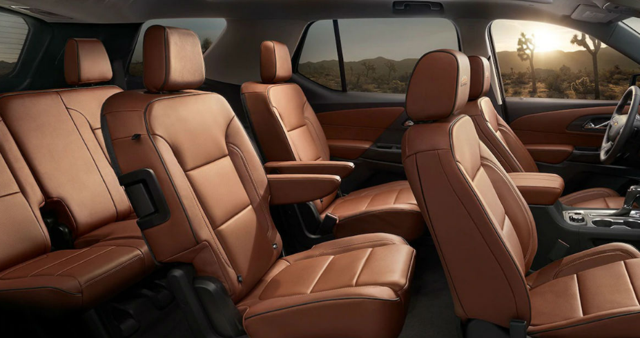 2021 Chevy Traverse Interior