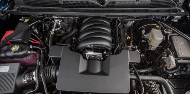 2020 Chevy 1500 Engine