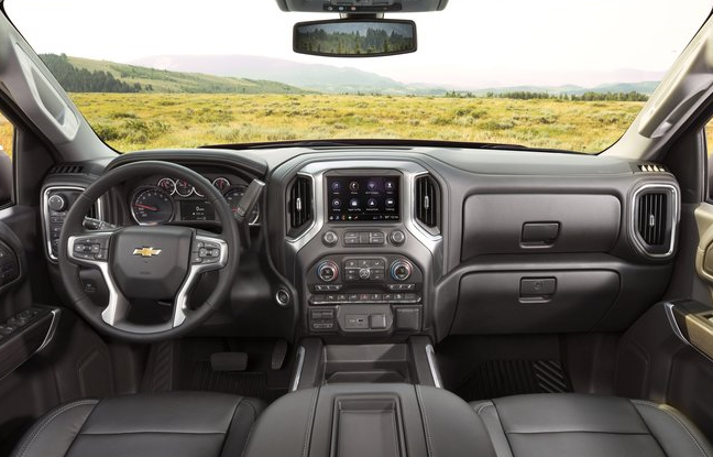 2020 Chevy 1500 Interior