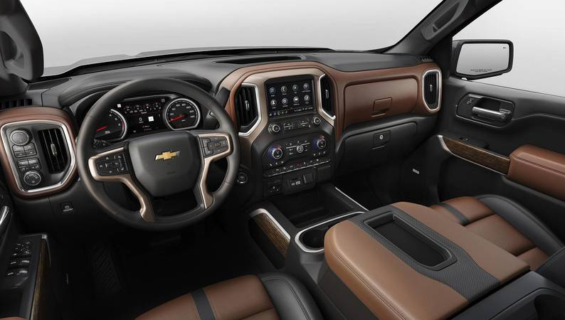 2020 Chevy 3500 Interior