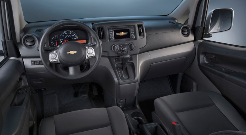 2020 Chevy Express Interior