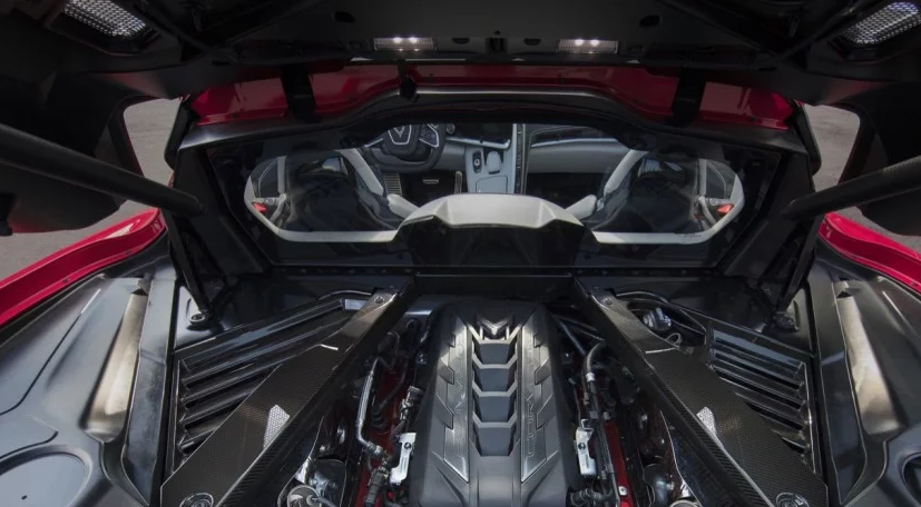 2020 Chevrolet Corvette ZR1 Engine