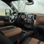 2020 Chevy 2500 Interior