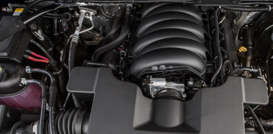 2020 Chevy HD 3500 Engine