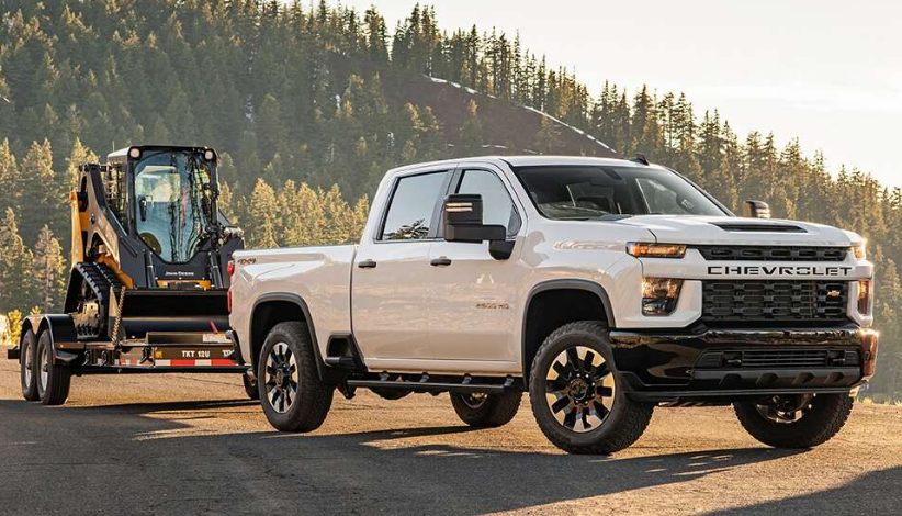2020 Chevy HD 3500 Exterior