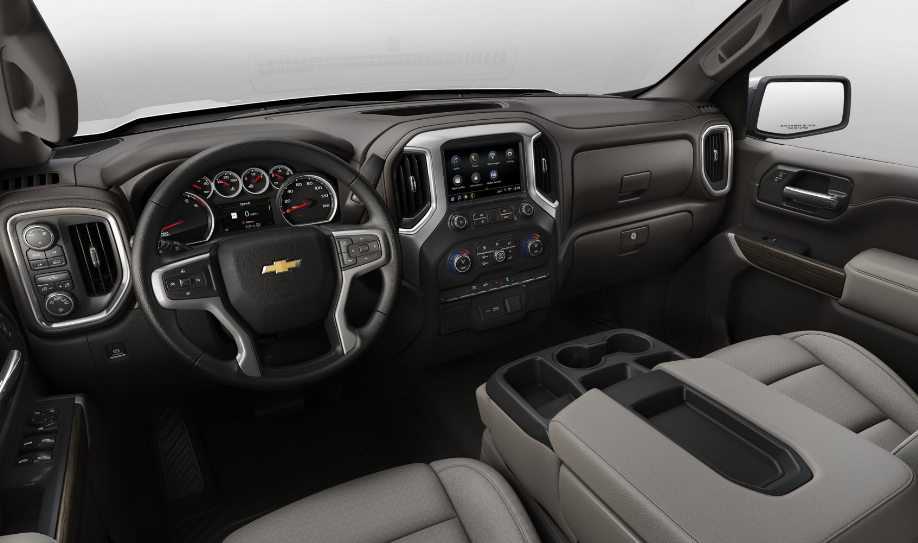 2020 Chevy HD 3500 Interior