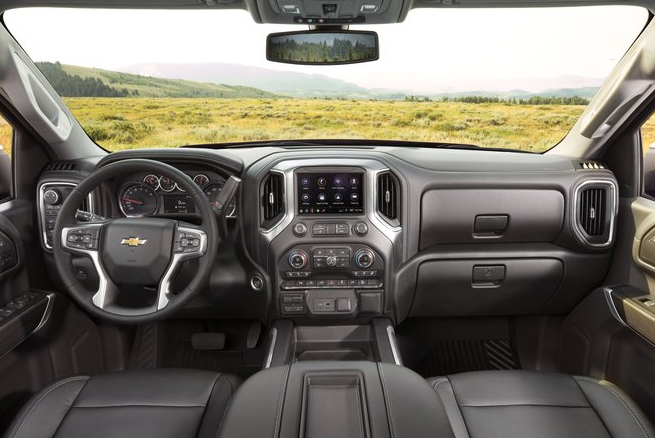 2020 New Chevy Silverado Interior