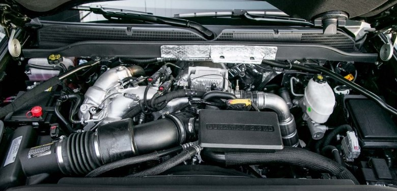 2021 Chevrolet 2500 Engine