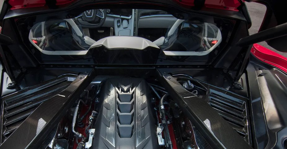 2021 Chevrolet Corvette C8 Engine