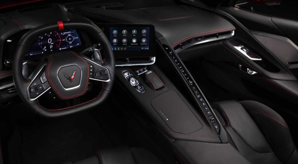 2021 Chevrolet Corvette C8 Interior