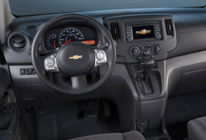 2021 Chevy Van Interior